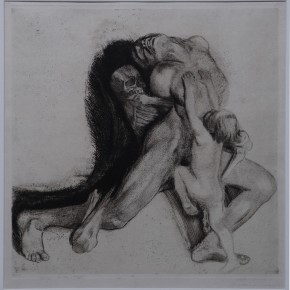 K_the Kollwitz, Death and woman, Copperplate etching, 1910 Courtesy YUAN Space