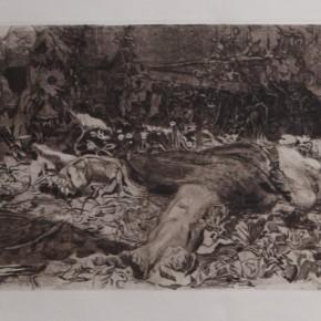 K_the Kollwitz, Raped, Copperplate etching, 1907-1908 Courtesy YUAN Space