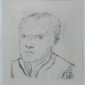 Max Beckmann, Drypoint etching, 1918 Courtesy YUAN Space