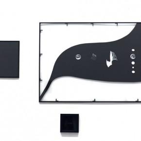 Na Buqi, October 12th, 2012; glass, mixed media, 2012; 33×33cm, 70x100cm, 16×16cm