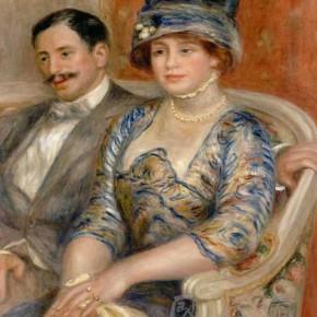 """Pierre Auguste Renoir, """"Mr. and Mrs. Bernheim de Villers"""""""