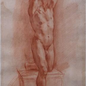 Pietro Berrettini, Called Pietro Da Cortona, Cortona 1596-1669, Rome,Red Chalk Courtesy YUAN Space