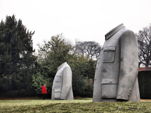 Sui Jianguo's Legacy Mantle, 1998 Photos from the Yorkshire Sculpture Park