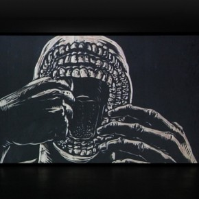 "Sun Xun, ""Some Actions Which Haven't Been Defined Yet in Revolution"", 2011; Single channel animation with sound, 12 min 22 sec 01"