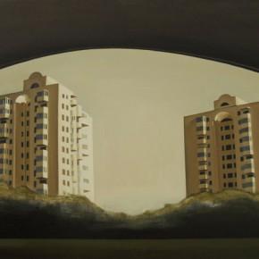 Tian Tian, Gemini, 2012.11; oil on canvas, 60×90cm