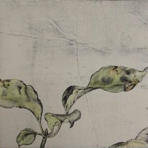 Untitled#4 James Wong 40 x 40 cm Colour on Intaglio Prints 2010
