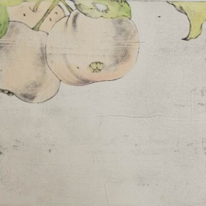 Untitled#5 James Wong 40 x 40 cm Colour on Intaglio Prints 2010