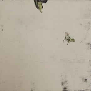 Untitled#6 James Wong 40 x 40 cm Colour on Intaglio Prints 2010