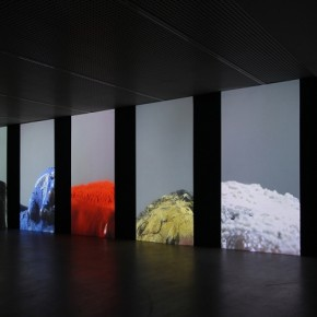 "Wang Gongxin, ""Basic Color""(detail), 2010; Five channel video with sound, 15 min 01"