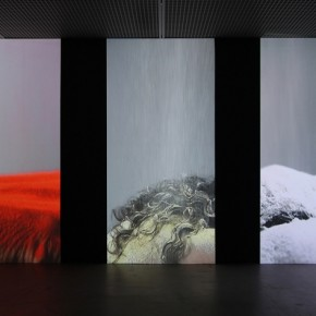 "Wang Gongxin, ""Basic Color""(detail), 2010; Five channel video with sound, 15 min 02"