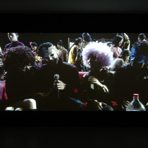 "Wang Jianwei, ""Gaze"", 2009; Single channel video with sound, 13 min 24 sec 03"