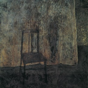 "Wang Yuping, ""Dark Series No.1"", 1989; oil on canvas, 190×150 cm ©CAFAM"