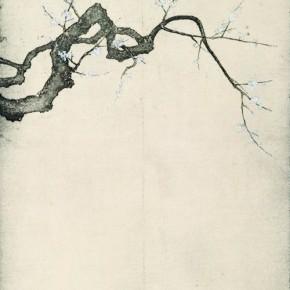Winter Prune James Wong 90 x 40 cm Etching 2010