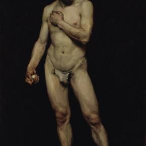 """Yang Feiyun, """"Male Nude"""", 1981; oil on canvas, 120×80 cm©CAFAM"""