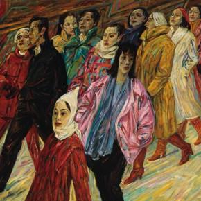 "Yu Hong, ""Steam"" 1988; oil on canvas, 130×140 cm©CAFAM"