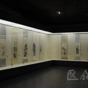 02 Installations View of Huang Binhong's Special Exhibition of Landscape Painting 290x290 - Huang Binhong's Special Exhibition of Landscape Painting on Display at Anhui Museum