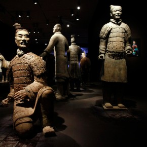 "05 Ten Terracotta Warriors of various ranks are the signature display in the Asian Art Museums new exhibit 290x290 - Asian Art Museum celebrates its 10th anniversary with exhibition ""China's Terracotta Warriors: The First Emperor's Legacy"""