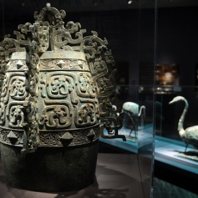 "07 An elaborately decorated bell with flamboyant flanges and dragons in on display at the exhibition 290x290 - Asian Art Museum celebrates its 10th anniversary with exhibition ""China's Terracotta Warriors: The First Emperor's Legacy"""