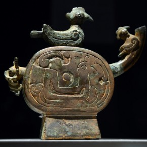 "11 This ritual wine kettle with a phoenix spout from the 5th century BC is on display at the Asian Art Museum exhibit 290x290 - Asian Art Museum celebrates its 10th anniversary with exhibition ""China's Terracotta Warriors: The First Emperor's Legacy"""