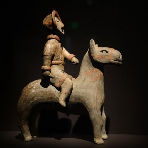 "12 A Miniature Horseback Rider  290x290 - Asian Art Museum celebrates its 10th anniversary with exhibition ""China's Terracotta Warriors: The First Emperor's Legacy"""