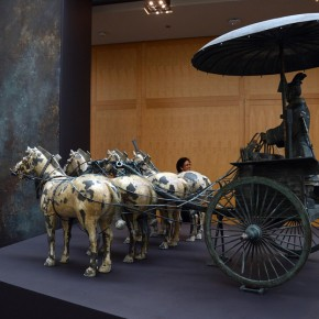 "15 Replicas of half sized horse and chariot sculptures 290x290 - Asian Art Museum celebrates its 10th anniversary with exhibition ""China's Terracotta Warriors: The First Emperor's Legacy"""