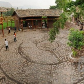 """34 Boundless Bridge Volunteer Team from College Union Award winner """"Boundless Bridge Series Project of Helping the Poor and Construction"""" the villagers Activity Center constructed by the volunteers 290x290 - The First China Design Exhibition (2012) Held in Shenzhen"""