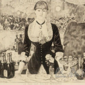"Adouard Manet, ""Welfare-Bergeron Seoul Bar"", 1882"