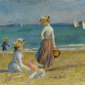 Auguste Renoir French 1841–1919 Figures on the Beach 1890 Oil on canvas 52.7x64.1cm 290x290 - Masterpieces from The Metropolitan Museum of Art on show at the National Museum of China (NMC)