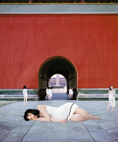 "Cui Xiuwen, Angel No. 11, 2006. C-print, 47 x 39 38"". Courtesy of Eli Klein Fine Art, New York. © Cui Xiuwen."