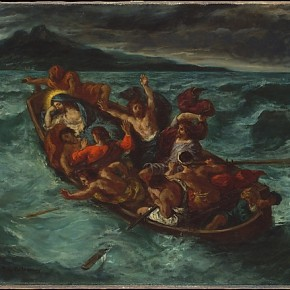 Eugène Delacroix French Charenton Saint Maurice 1798–1863 Paris Christ Asleep During the Tempest 290x290 - Masterpieces from The Metropolitan Museum of Art on show at the National Museum of China (NMC)