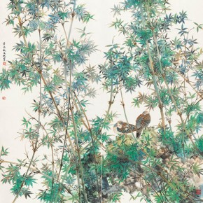 """Gu Wenbin""""Homeland"""" 290x290 - 2012 National Exhibition of Chinese Paintings on view at the China Art Museum"""