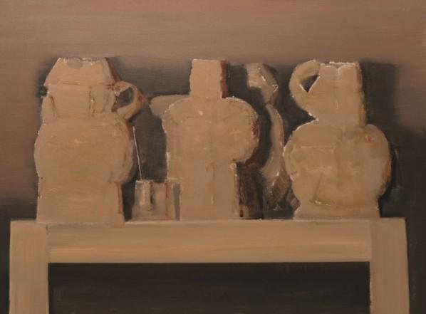 "Guo Zhengshan, ""Stilllife 002"", oil on canvas"