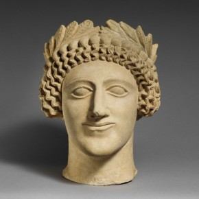 Head of youth with a wreath Cypro Classical period mid 5th century B.C. 290x290 - Masterpieces from The Metropolitan Museum of Art on show at the National Museum of China (NMC)