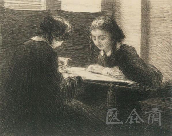 Henri Fantin-Latour, Brodeuses, 1898