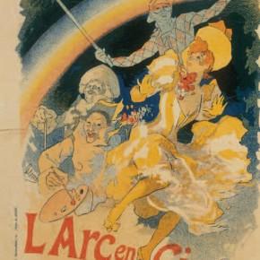 "Jules Cheret, ""Rainbow"", 1893"