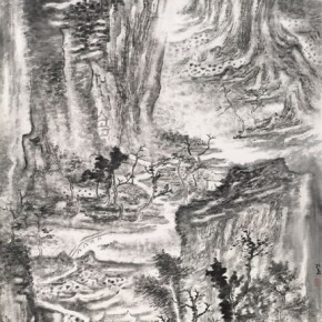 """Kong Yan""""OldGarden"""" 290x290 - 2012 National Exhibition of Chinese Paintings on view at the China Art Museum"""