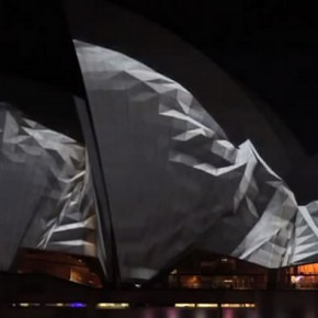 Lighting the Sails VIVID Sydney 4 2012 290x290 - Ding Zhaochen: the Features and Expression Forms of New Media Performing Art