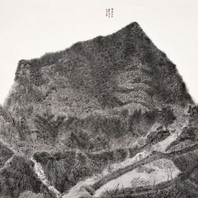 """Liu Shiwei""""Taihang Mountain in the Rain"""" 290x290 - 2012 National Exhibition of Chinese Paintings on view at the China Art Museum"""