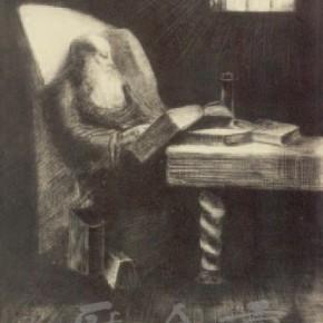 "Odilon Redon, ""Bookworm"", 1891"