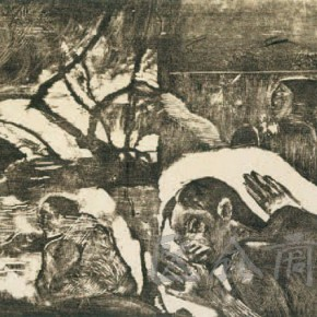 """Paul Gauguin, """"The Soul of the Dead Watching"""", 1892"""