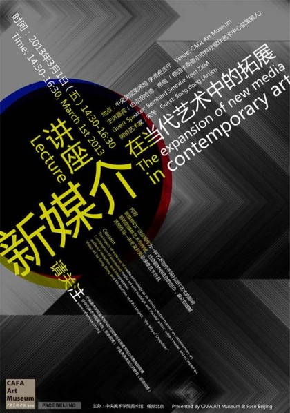 The Expansion of Media Technology in Contemporary Art Song Dong and Bernhard Serexhe