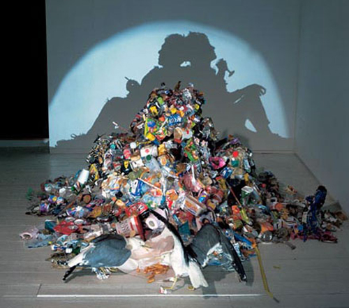 "Tim Noble and  Sue Webster, ""Real Life is Rubbish"", 1998"