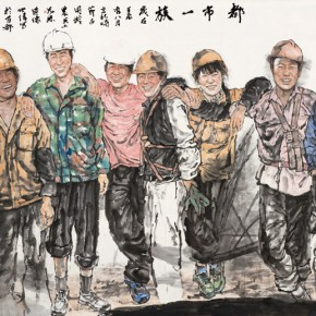 """Wang Shiwei""""A GroupofUrban People"""" 290x290 - 2012 National Exhibition of Chinese Paintings on view at the China Art Museum"""