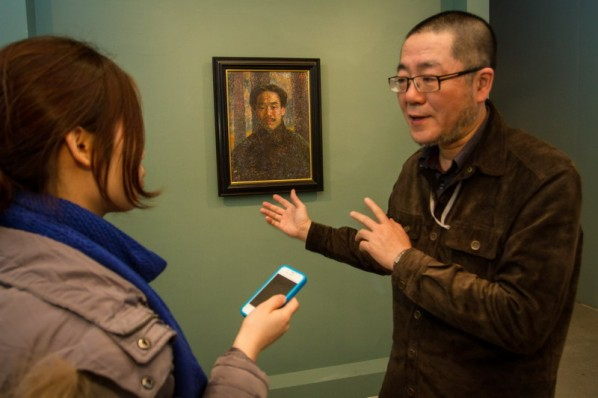 01 Installation View of Long-lasting Fragrance – Study on Li Shutong' Oil Paintings at CAFAM