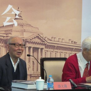02 Shao Dazhen addressed at the press conference Photo by Gao Sisi 290x290 - The 20th China's Art Road - Studying in the Soviet Union Inaugurated at National Art Museum of China
