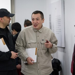 """04 Prof. Li Fan  visited""""Review What You Have Learned and Learn the New Wu Jiang's Woodcut"""""""