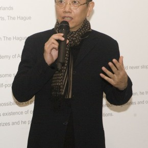 "05 Artist Chen Danqing spoke at the opening ceremony 290x290 - ""Face2Face: Portraits and Interiors"" Sino-Dutch Group Exhibition opened at Today Art Museum in Beijing"