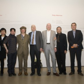 "06 Group Photo of Director of Today Art Museum curators and artists 290x290 - ""Face2Face: Portraits and Interiors"" Sino-Dutch Group Exhibition opened at Today Art Museum in Beijing"