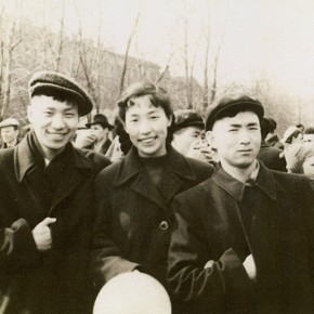 06 Photo of Quan Shanshileft Li Yulanchenpeng and Tan Yongtai participated in the May 1 Labor Day in 1957 290x290 - The 20th China's Art Road - Studying in the Soviet Union Inaugurated at National Art Museum of China