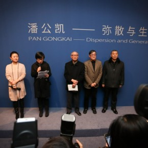 "07 The Opening Ceremony of ""Dispersion and Generation"" 290x290 - Raise Question for Chinese Art: Large-scaled Solo Exhibition ""Dispersion and Generation"" of Pan Gongkai opened in Beijing"